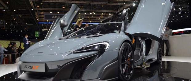 McLaren 675LT Video, первый взгляд