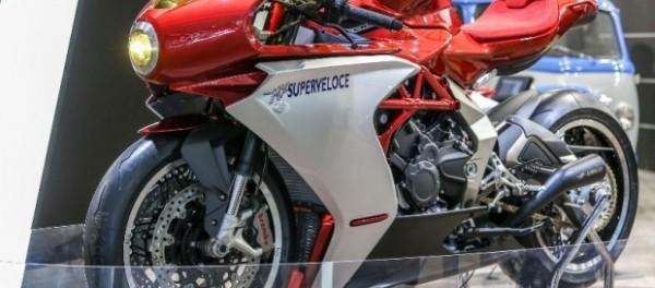 Mv Agusta показала живьем концепт Superveloce 800