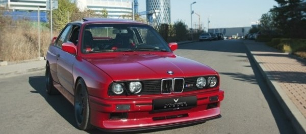BMW M3 с салоном в стиле Golf GTI
