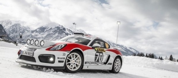 Porsche показала ралли-кар на базе трекового 718 Cayman